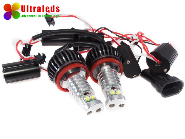 LED Markery H8 - 2 x 40 Wat - BMW E81 E88 E93 M6 F01 Z4 ... Cree XM-L LED